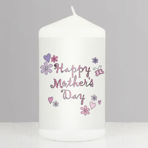 Happy Mother's Day Candle Gift For Mum Mummy